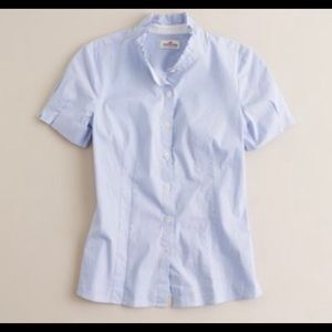 J. Crew Haberdashery Pinstripe Button Down Shirt